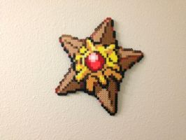 Staryu - Fuse Beads by chocovanillite