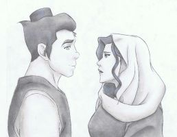 Asami and Bolin by Anime019se