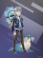 TB4 Pokemon AU - Jack Frost by hielorei