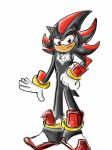Shadow the Hedgehog rough by neko-riddles