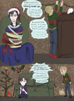 Sherlock Secret Santa 2011 by dacoolcat