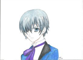 Ciel Phantomhive by DarkFantasyXO