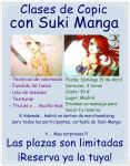 Cartel clases de Copic by Suki-Manga