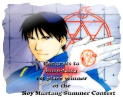1st place winner award by roy-mustang
