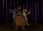 Freddy and the Gang at Night by winxJenny