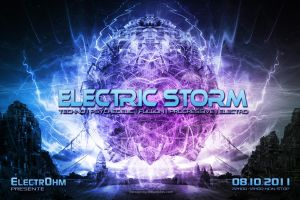 ::: Electric Storm ::: by donanubis