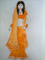 Traditional Lehnga-3 by Madhuchhanda