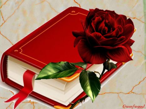 THE RED BOOK by GREENFROGGY1