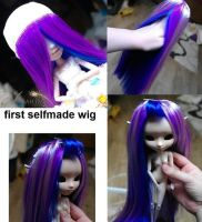 Selfmade BJD wig by Atelier-Cynamon