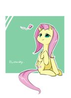 Fluttershy by ya0427