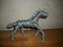 Wire Horse 2 by CreepOfFear