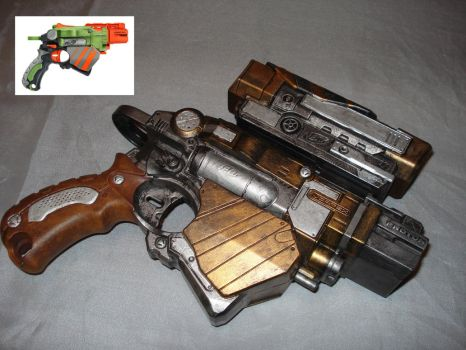 Nerf Gun Prop -  Nerf Proton Right Side by MirrorMask