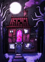 The House in the Woods by Hanogan