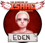 The Binding of Isaac Afterbirth Eden by AlmaGKrueger