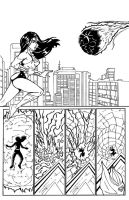 Wonder Woman vs Supergirl Inked 2/3 by TheRafaLee