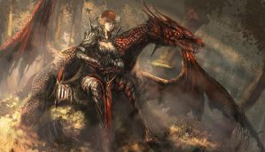 Dragon Knight by shizen1102
