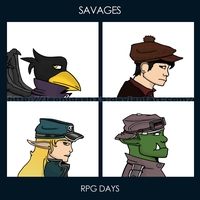 Savages - RPG Days by Leonidash15