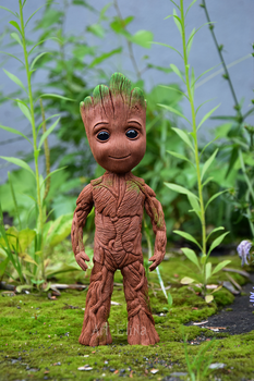 Groot of polymer clay by Art-Elina
