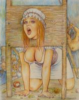 Margaret On The Guillotine by odavis