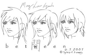 Ming hairstyles x.x by SylviaDraws