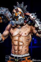 Psycho Krieg - Borderlands 2 Cosplay by Leon Chiro by LeonChiroCosplayArt