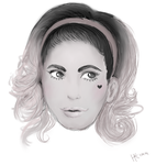 Marina and the Diamonds by ShiraOokami