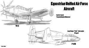 Equestrian Unified Air Force Aircraft by PAK-FAace1234