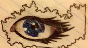 Eye Drawing by MaraJayne95