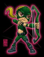 Young Justice- Artemis by lordmesa