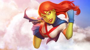 Miss Martian by demidevil13