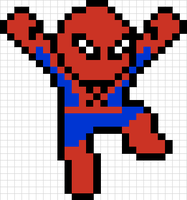 Spider-Man Sprite 2.0 by Ability-King-KK