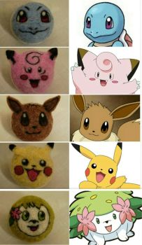 Pokemon Macarons - reference by flyingduster