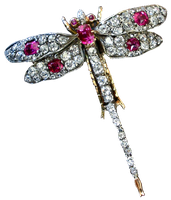 Vintage Dragonfly Brooch by EveyD