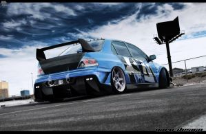 Mitsubishi lancer evolution by VaroDesign