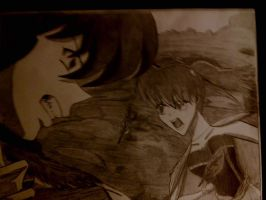 Keida and Mayu Fighting by Kogalover4ever