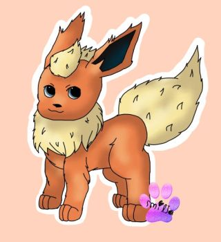 Flareon~ by Karen-dog