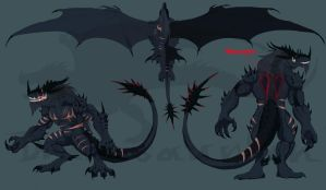 night stalker Saurgus reference by Drakesaurian