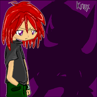 Humanized Knuckles the Echidna by Pawy-Chan