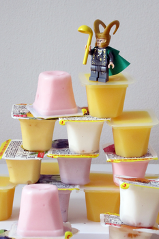 Loki conquers the mountain of pudding by brinylon