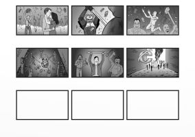 Advertising Storyboard 1-2 by WasserBoxer