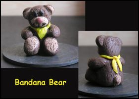 Bandana Bear by Nadia1956