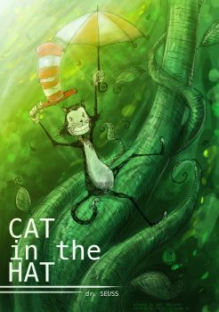Cat in the hat by 5aXoR