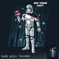 Rare Shiny Trooper - tee by InfinityWave