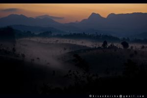 Landscape in south india by kalayogi