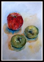 apples for dinner by DariaGALLERY