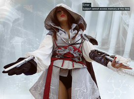 Ezia Auditore /Ezio Auditore Genderswap Cosplay by Shady-Chan