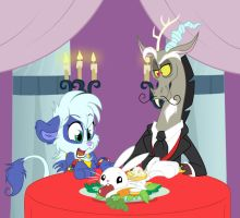 Dinner date by icelion87