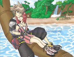 KH: Destiny Binds Us Together by snowygem