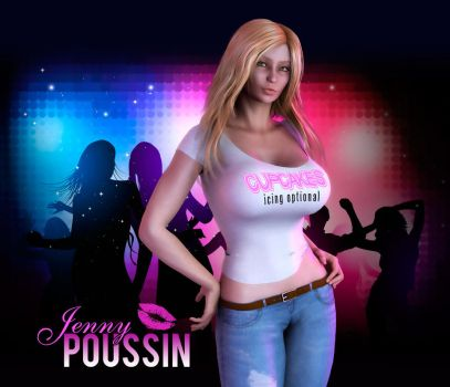 Jenny Poussin - Cupcakes by firebird106