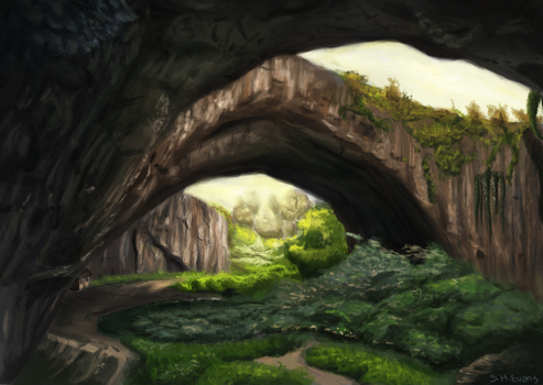 Forest caves by shevans